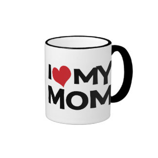 J'aime ma tasse de sonnerie du jour de mère de mam