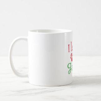 J'aime ma tasse ESTROPIÉE de thé de tasse de café