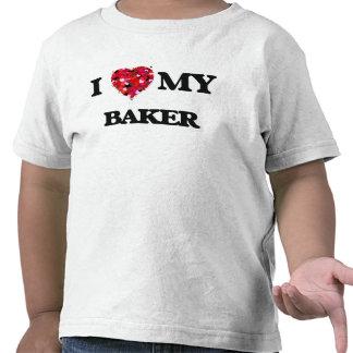 J'aime mon Baker T-shirts