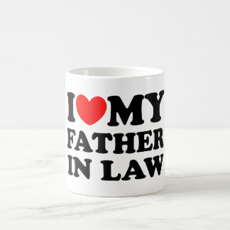 J'aime mon beau-père mug blanc