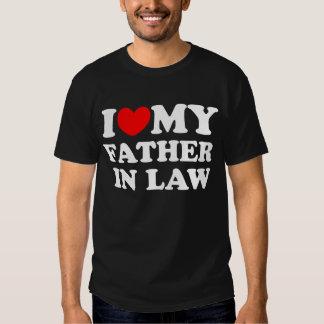J'aime mon beau-père t-shirts