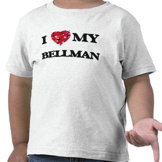 J'aime mon crieur public t-shirts