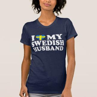 J'aime mon mari suédois t-shirt