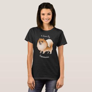 J'aime mon Pomeranian T-shirt