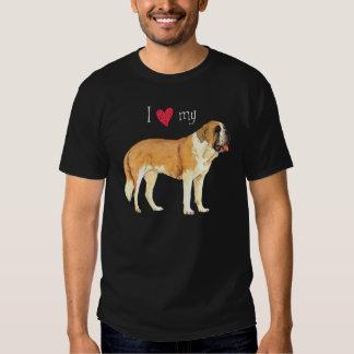 J'aime mon St Bernard Tee-shirts