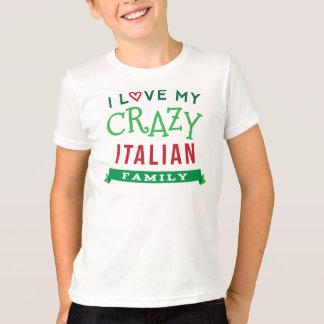 J'aime mon T-shirt italien fou ide de la Réunion