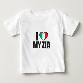J'AIME MON ZIA.ai T-shirt Pour Bébé