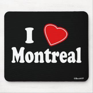 J'aime Montréal Tapis De Souris