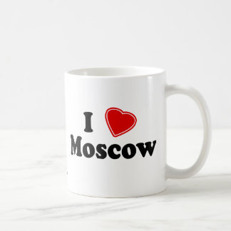 J'aime Moscou Mug À Café