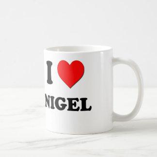 J'aime Nigel Mugs À Café