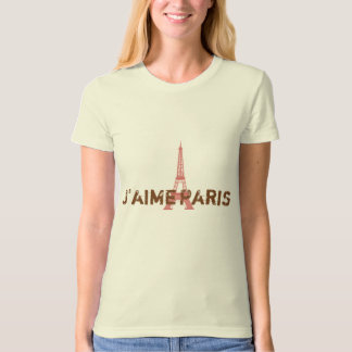 J'aime Paris Ladies Organic T-Shirt