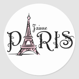J'aime Paris Sticker