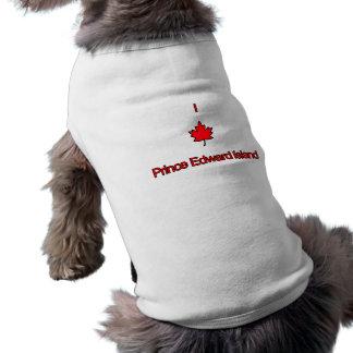 J'aime PEI île Prince Edouard T-shirts Pour Toutous