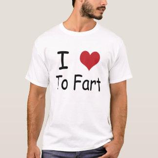 J'aime péter t-shirt