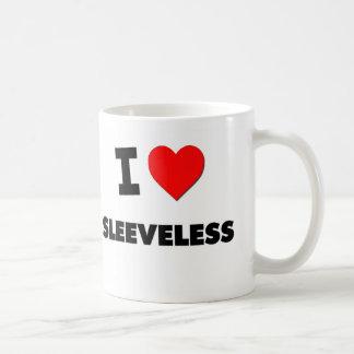 J'aime sans manche mug