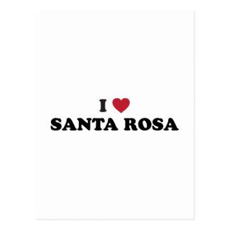 J'aime Santa Rosa la Californie Cartes Postales
