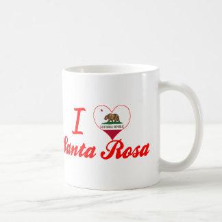 J'aime Santa Rosa, la Californie Mug À Café