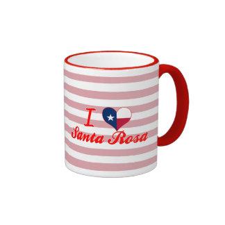 J'aime Santa Rosa, le Texas Mugs À Café