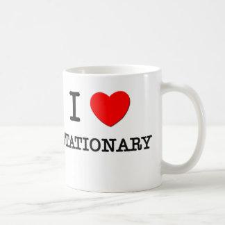 J'aime stationnaire tasse