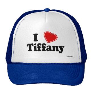 J'aime Tiffany Casquette De Camionneur