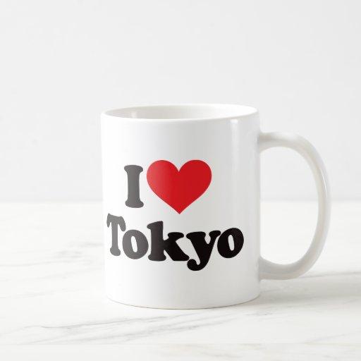 J'aime Tokyo Tasse À Café