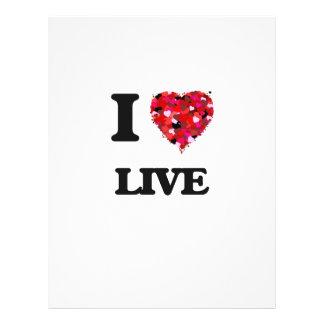J'aime vivant prospectus 21,6 cm x 24,94 cm