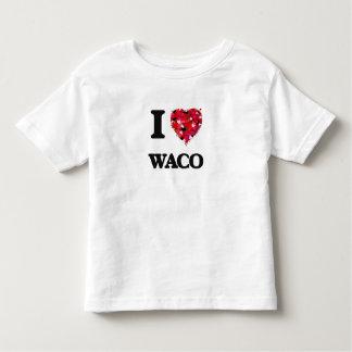 J'aime Waco le Texas Tee-shirt