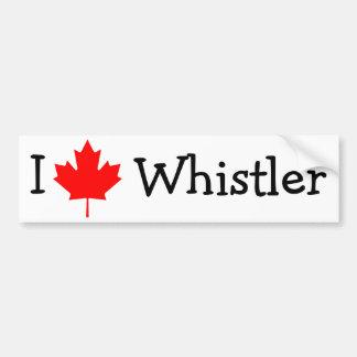 J'aime Whistler Autocollant De Voiture