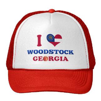 J'aime Woodstock, la Géorgie Casquette De Camionneur