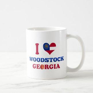 J'aime Woodstock, la Géorgie Tasse