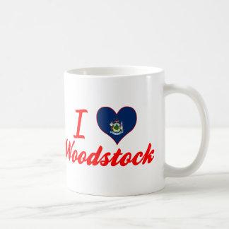 J'aime Woodstock, Maine Tasses