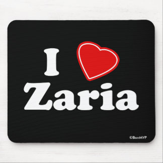 J'aime Zaria Tapis De Souris