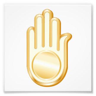 Jain Symbol Photo Print