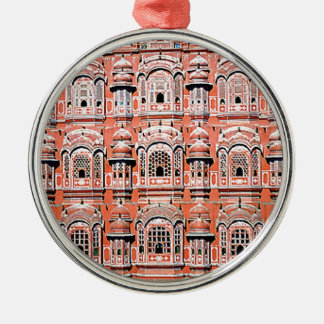 jaipur palace india Silver-Colored round ornament