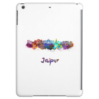 Jaipur skyline in watercolor iPad air covers