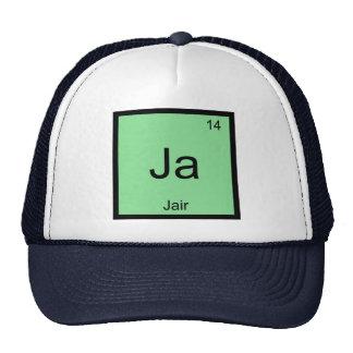 Jair  Name Chemistry Element Periodic Table Trucker Hat