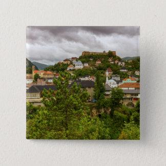 Jajce, Bosnia and Herzegovina 2 Inch Square Button