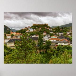 Jajce, Bosnia and Herzegovina Poster