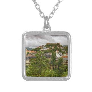Jajce, Bosnia and Herzegovina Silver Plated Necklace