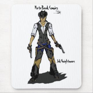 Jak Knightmare, NoteBook Comics Mouse Pad