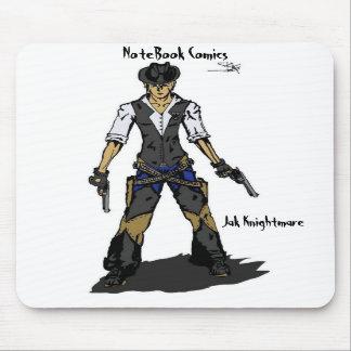 Jak Knightmare, NoteBook Comics Mousepads