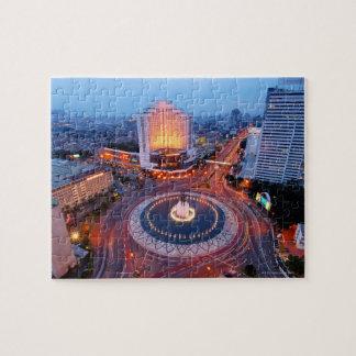Jakarta Cityscape Puzzle