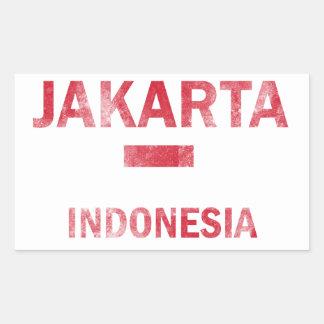Jakarta Indonesia Designs Sticker