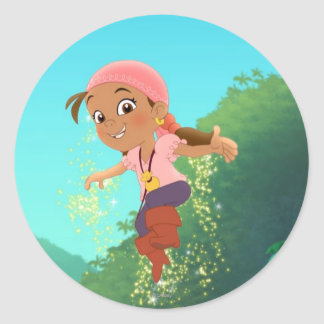 Jake and the Never Land Pirates | Izzy Classic Round Sticker