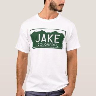 JAKE Colorado License Plate T-Shirt