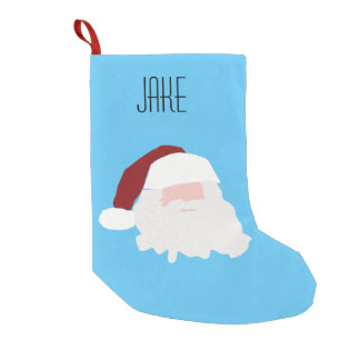 Jake custom named Santa Christmas stocking