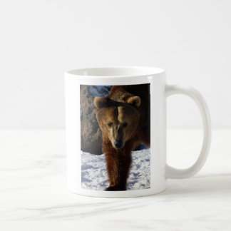 JAKE MONTANA GRIZZLY BEAR ENCOUNTERS CLASSIC WHITE COFFEE MUG