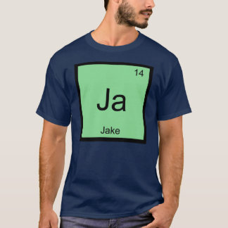 Jake  Name Chemistry Element Periodic Table T-Shirt