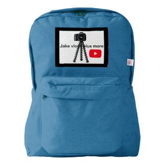 Jake vlogs back pack