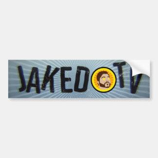 JakedTV Bumper Sticker! Bumper Sticker